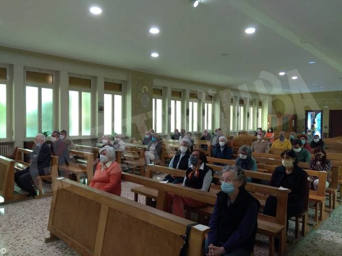 La prima Messa nella chiesa dell'Istituto salesiano di Bra 1