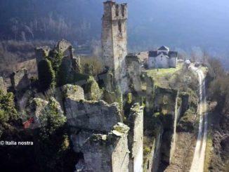 Italia nostra inserisce i ruderi del castello di Gorzegno sono nella lista dei beni da salvare
