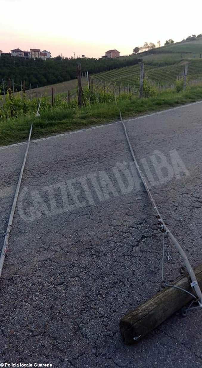 Cade un tratto di cavo tra Vaccheria e Guarene: Capoluogo e frazioni senza telefono