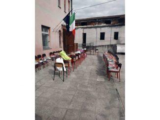San Rocco Cherasca: i genitori hanno recuperato libri e quaderni a scuola