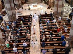 La ripresa delle celebrazioni. La prima messa domenicale in duomo 3