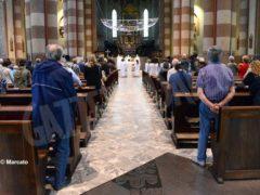 La ripresa delle celebrazioni. La prima messa domenicale in duomo 9