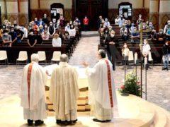 La ripresa delle celebrazioni. La prima messa domenicale in duomo 11