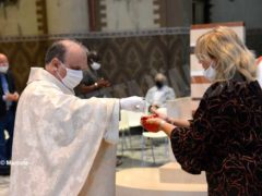 La ripresa delle celebrazioni. La prima messa domenicale in duomo 14