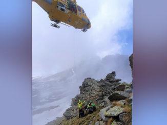 Escursionista precipitato dalla Cima della Ciarma, recuperato dal Soccorso alpino
