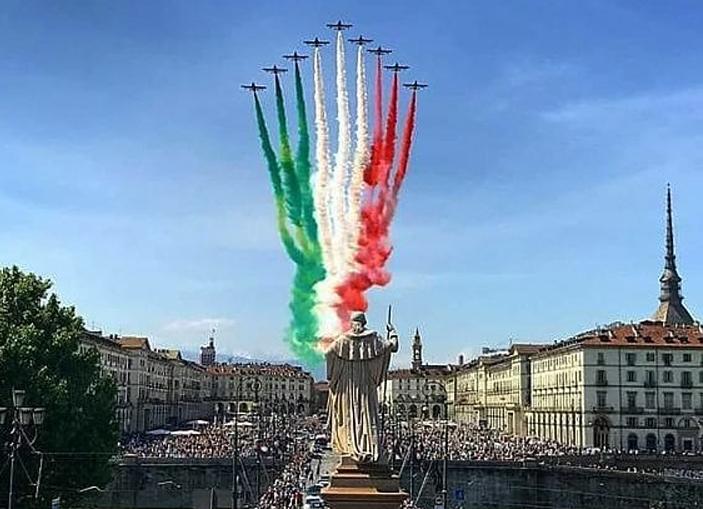 frecce tricolore Torino