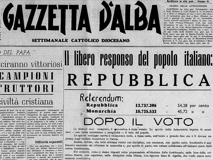 gazzetta alba copertina referendum