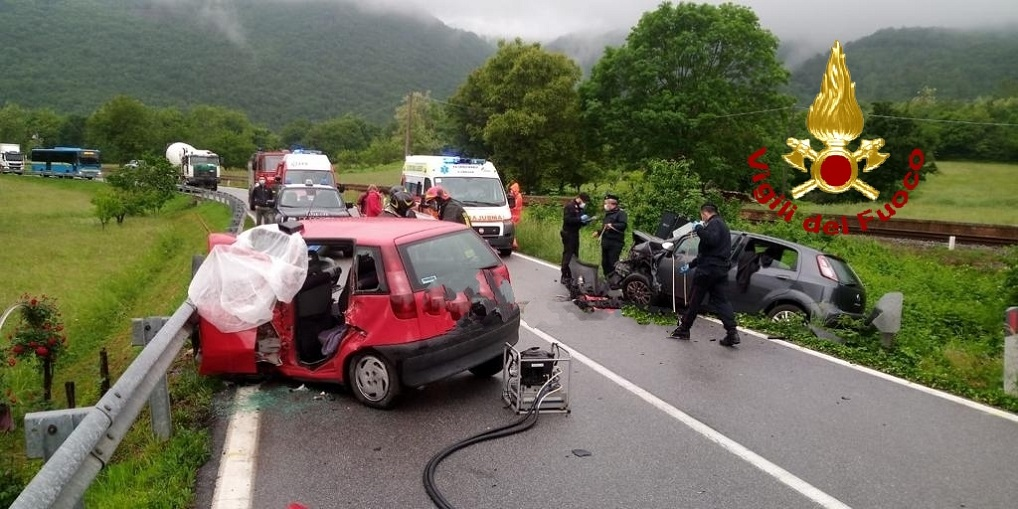 incidente bagnasco