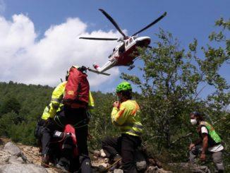 Soccorso Alpino e Speleologico Piemontese: recuperato un disperso nei boschi del torinese