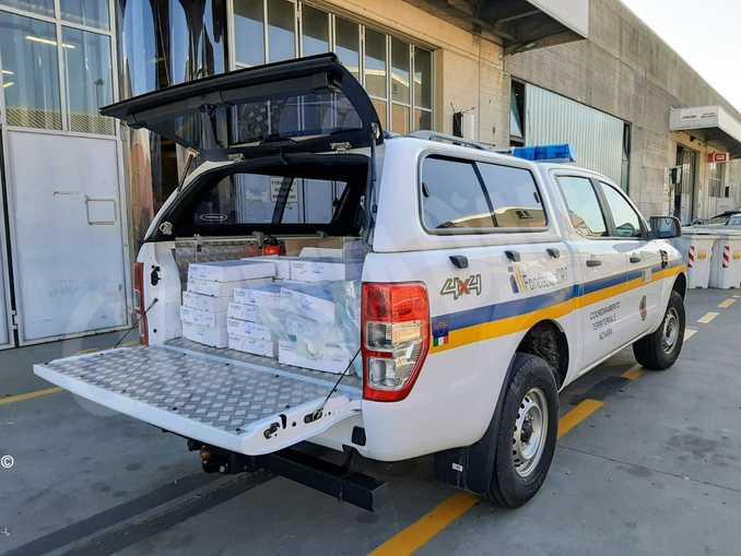 mezzo protezione civile fondazione Crt