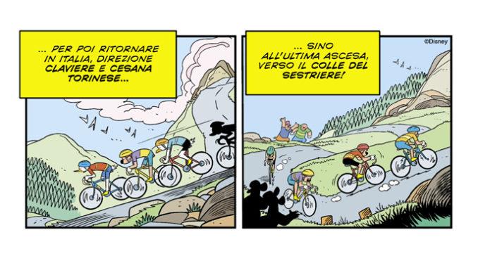 Topolino N° 3366 arriva in Piemonte con una vignetta dedicata ad Alba