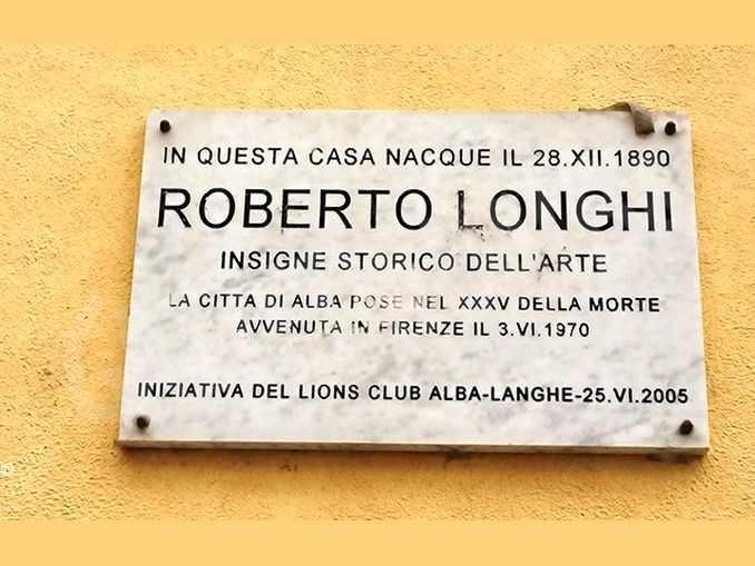 Roberto Longhi e i primi passi nella sua Alba