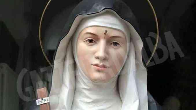 Niente riti tradizionali a Bra, la festa di Santa Rita da Cascia si sposta in Tv