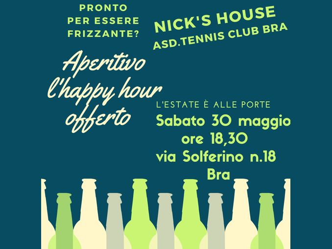 tennis club bra-aperitivo