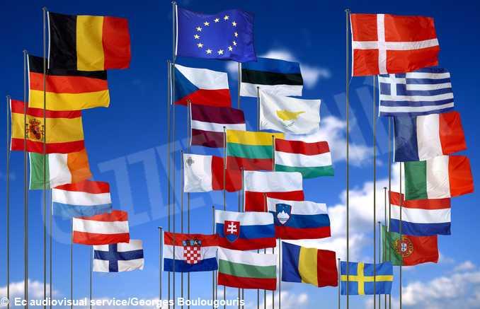unione europea bandiere