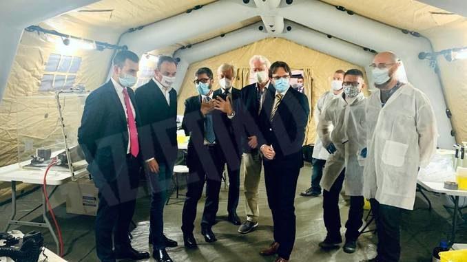 Regione Piemonte e Agenzia spaziale europea attivano un laboratorio mobile per eseguire test sierologici