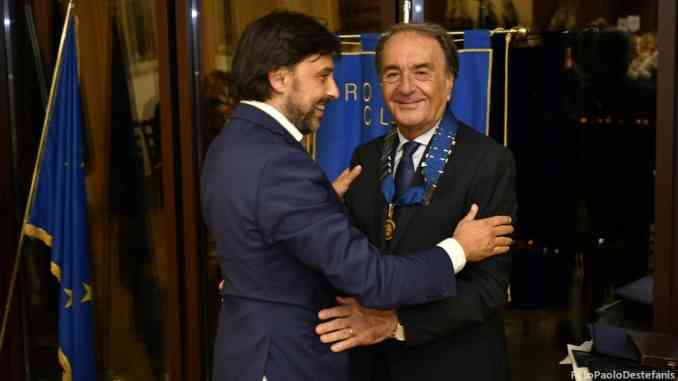 Carlo Borsalino è il nuovo presidente del Rotary club Roero