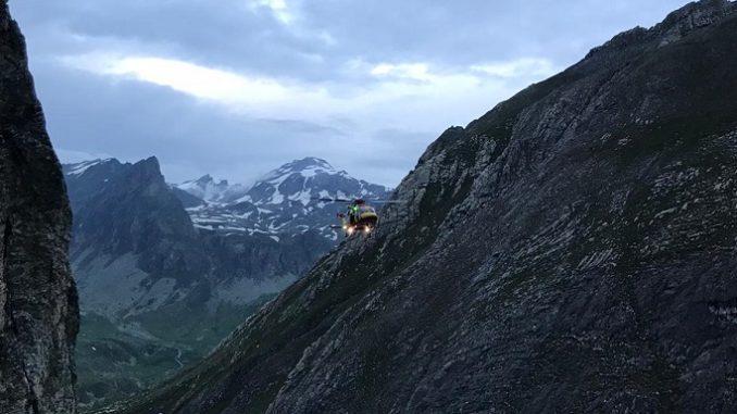Valle Maira: soccorsi tre escursionisti e recuperata una cordata di alpinisti dal Soccorso Alpino e Speleologico Piemontese