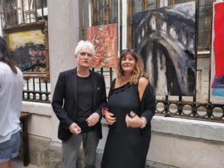 """L'artista albese Daniela Delfina Dell'Orto nuovamente a Venezia per la collettiva """"Arte alla Testa"""" 1"""