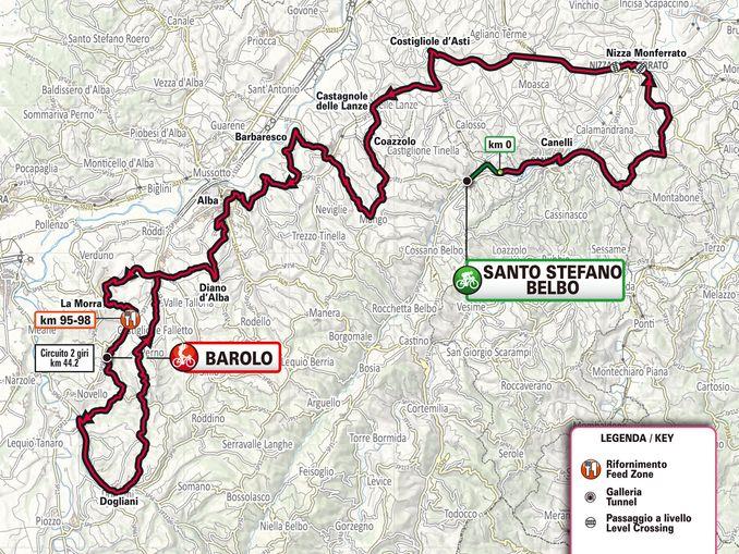 Gran Piemonte 2020 planimetria