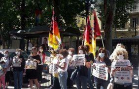 Scuola: mobilitazione di genitori e insegnanti in piazza «chiediamo sicurezza, spazi, risorse e personale adeguati» (FOTOGALLERY)