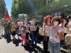 Scuola: mobilitazione di genitori e insegnanti in piazza «chiediamo sicurezza, spazi, risorse e personale adeguati» (FOTOGALLERY) 9
