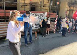 Scuola: mobilitazione di genitori e insegnanti in piazza «chiediamo sicurezza, spazi, risorse e personale adeguati» (FOTOGALLERY) 13