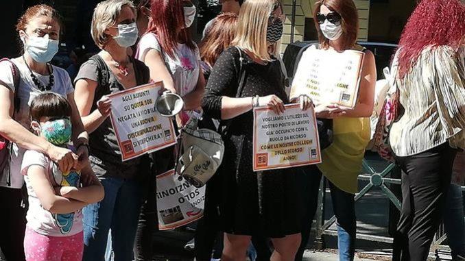 Scuola: mobilitazione di genitori e insegnanti in piazza «chiediamo sicurezza, spazi, risorse e personale adeguati» (FOTOGALLERY) 4