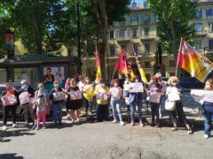 Scuola: mobilitazione di genitori e insegnanti in piazza «chiediamo sicurezza, spazi, risorse e personale adeguati» (FOTOGALLERY) 5
