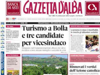 La copertina di Gazzetta d'Alba in edicola martedì 9 giugno