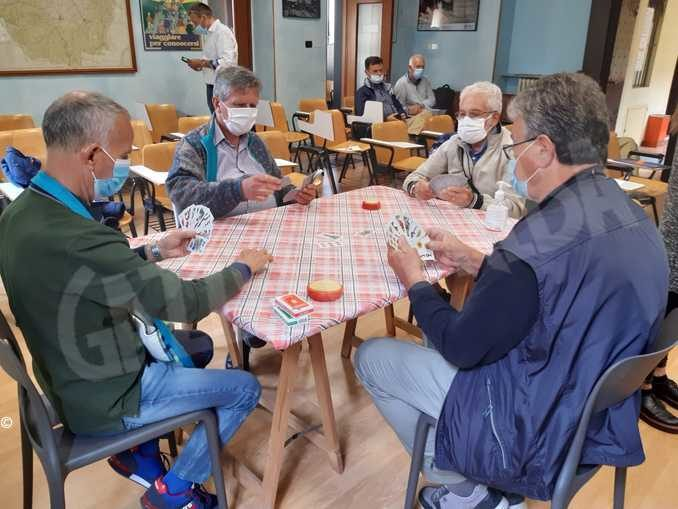 I circoli Acli preparano il protocollo per tornare a giocare a carte