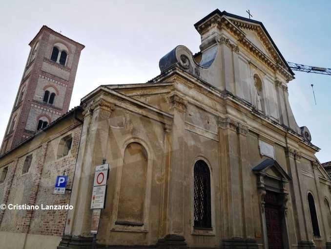 La chiesa di San Gregorio a Cherasco