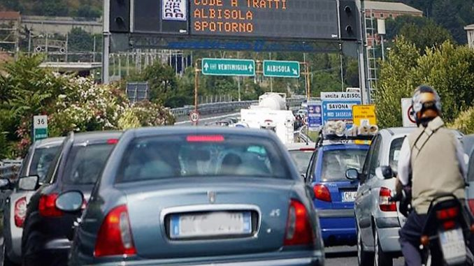 Code autostradali Liguria-Piemonte: Cirio e Gabusi scrivono ad Aspi