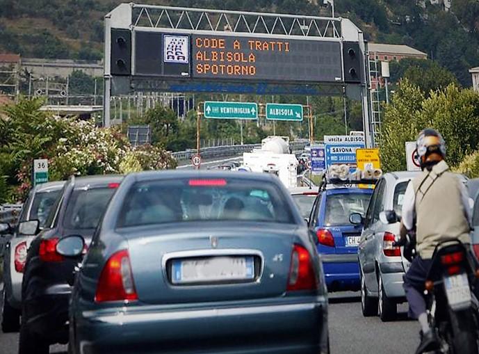 code autostrada Piemonte Liguria