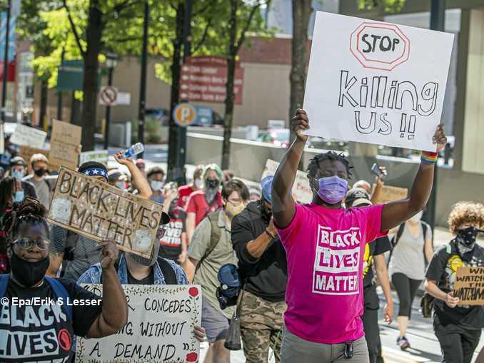 Manifestazioni negli Usa dopo l'uccisione di George Floyd