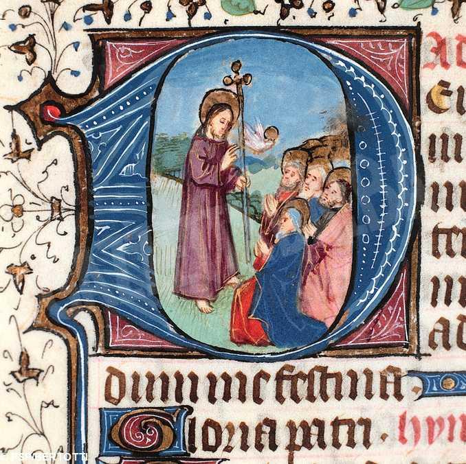 gesu apostoli miniatura