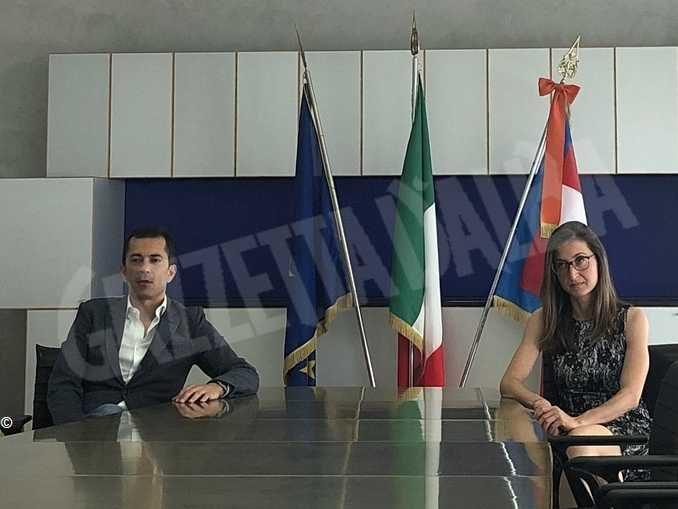 Marco Gabusi e Licia Nigrogno