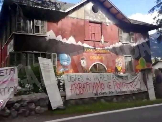 Fermati 17 attivisti: nel 2018 occuparono stabili a Oulx e Claviere per ospitare clandestini