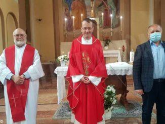Cossano, Rocchetta e Castiglione Tinella hanno salutato il viceparroco don Luca Bravo 3