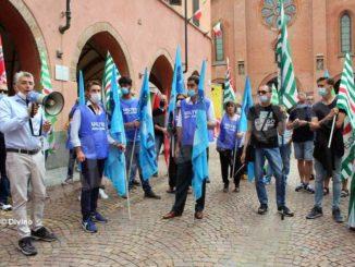 Il sindaco si Alba incontra lavoratori e sindacati della Stamperia Miroglio