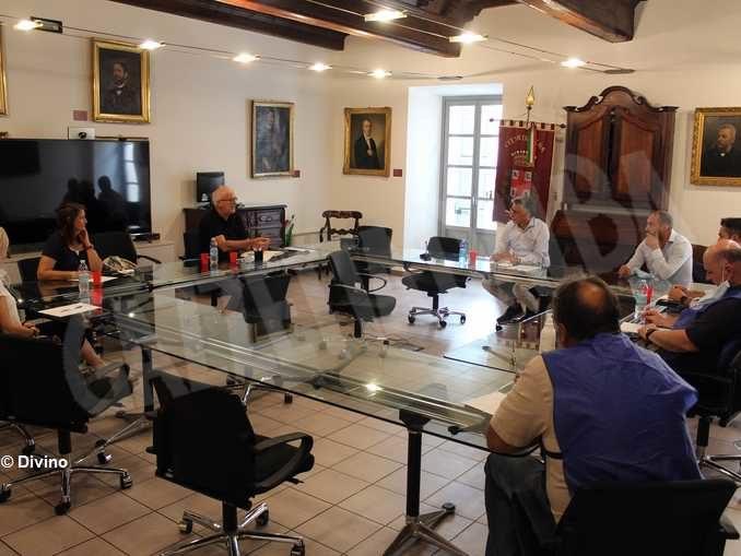 Il sindaco si Alba incontra lavoratori e sindacati della Stamperia Miroglio 1