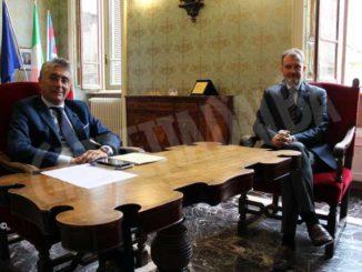 Intesa-Ubi: Cappello (Fondazione Crc) incontra il sindaco Bo