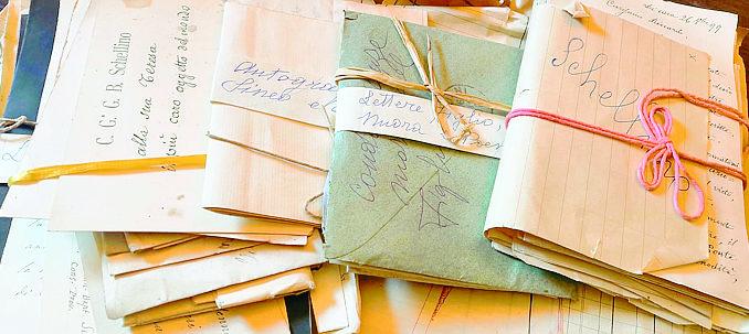 Dogliani: l'archivio di Schellino sarà riordinato per creare una banca dati