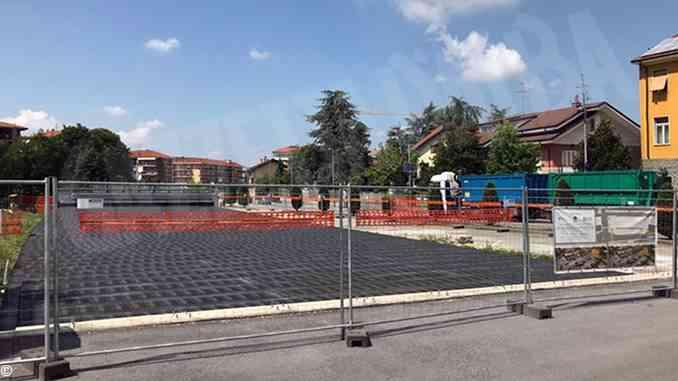 Entro fine dell'estate pronti i 40  parcheggi comodi per raggiungere il centro