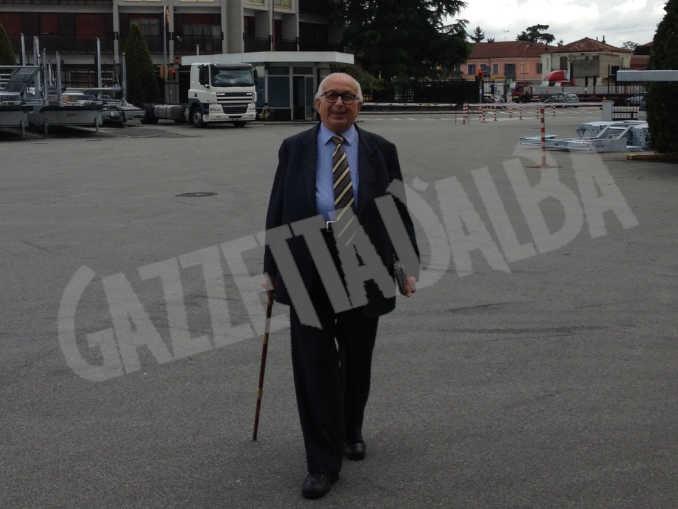 Grande cordoglio a Bra per la scomparsa, a 97 anni, dell'imprenditore Giorgio Rolfo 1
