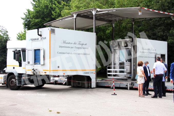 Taglio del nastro per rinnovato Centro Collaudi albese a piazzale Vitale Robaldo in frazione Mussotto (FOTOGALLERY) 15