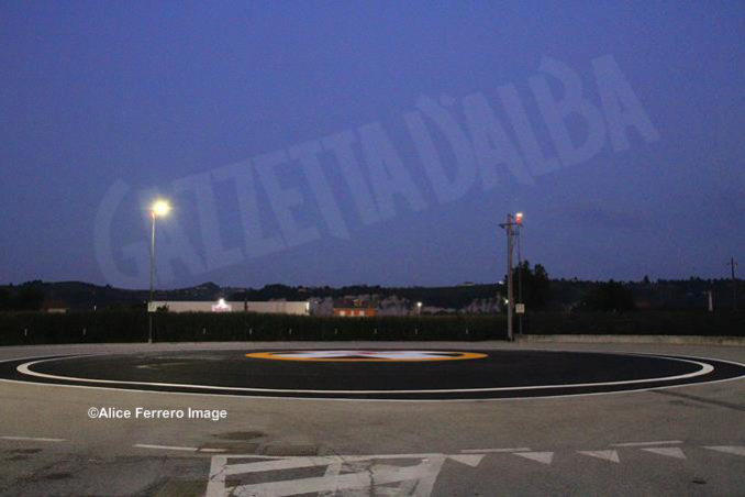 Inaugurata ad Alba la nuova base elisoccorso per atterraggio diurno-notturno con validazione del sistema 118