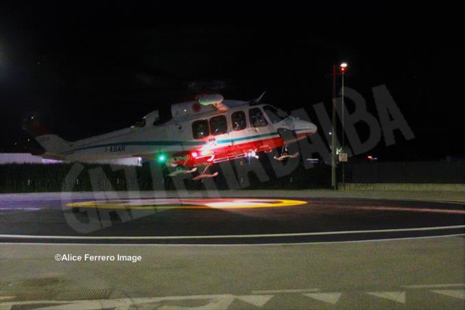 Inaugurata ad Alba la nuova base elisoccorso per atterraggio diurno-notturno con validazione del sistema 118 17