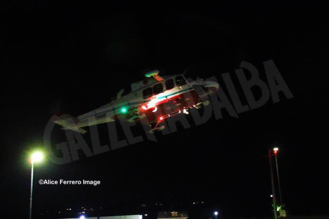 Inaugurata ad Alba la nuova base elisoccorso per atterraggio diurno-notturno con validazione del sistema 118 18