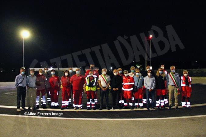 Inaugurata ad Alba la nuova base elisoccorso per atterraggio diurno-notturno con validazione del sistema 118 6